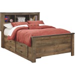 Trinell Full Bookcase Headboard