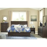 Darbry King Panel Bed with Storage