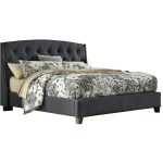 Kasidon King Tufted Bed
