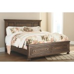 Flynnter King Panel Bed with Storage