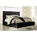 Lindenfield California King Upholstered Bed with Storage
