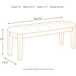 Ralene Dining Room Bench