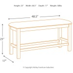 Moriville Counter Height Dining Room Bench