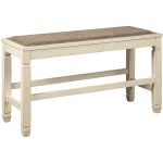 Bolanburg Counter Height Dining Room Bench