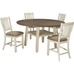 Bolanburg 5 PC Counter Height Dining Set