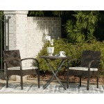 Anchor Lane Outdoor Chairs with Table Set (Set of 3)