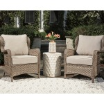 Clear Ridge Lounge Chair with Cushion (Set of 2)