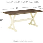 Preston Bay Dining Table with Umbrella Option