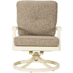 Preston Bay Swivel Lounge with Cushion (Set of 2)