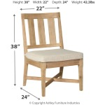 Clare View Chair with Cushion (Set of 2)