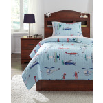 McAllen 2-Piece Twin Quilt Set