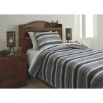 Merlin 2-Piece Twin Coverlet Set