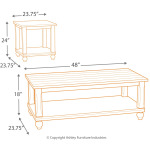 Cloudhurst Table (Set of 3)