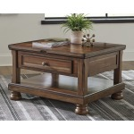 Flynnter Coffee Table with Lift Top