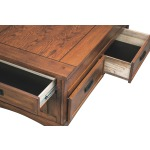 Cross Island Coffee Table with Lift Top