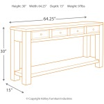 Gavelston Sofa/Console Table