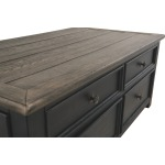 Tyler Creek Coffee Table with Lift Top