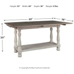 Havalance Sofa/Console Table