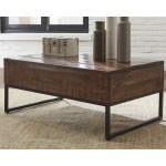 Hirvanton Coffee Table with Lift Top