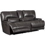 McCaskill Reclining Loveseat with Console