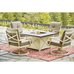 Preston Bay 5PC Outdoor Furniture Set