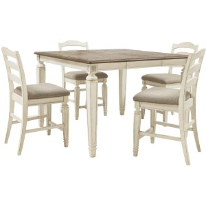 Realyn 5 PC Counter Height Dining Set