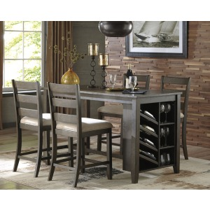 Rokane 5PC Counter Height Dining Set