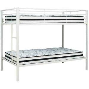 Broshard Twin over Twin Metal Bunk Bed