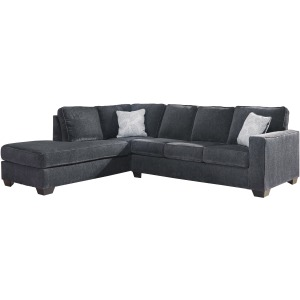 ALTARI SLATE CHAISE SECTIONAL