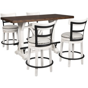 Valebeck 5 PC Counter Height Dining Set