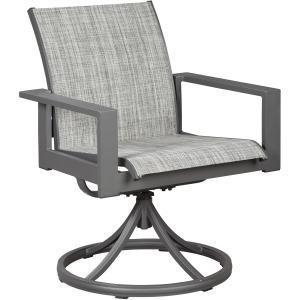 Okada Sling Swivel Chair