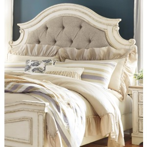Realyn King/California King Upholstered Panel Headboard
