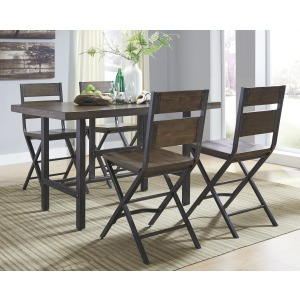 Kavara 5 PC Counter Height Dining Set