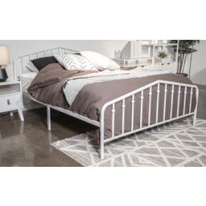 Trentlore Twin Metal Bed