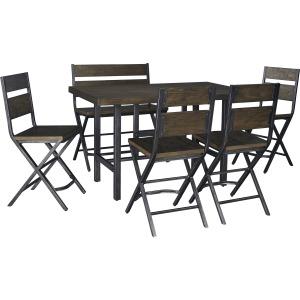 Kavara 6 Piece Counter Height Dining Set