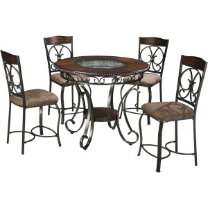 Glambrey 5 PC Counter Height Dining Set
