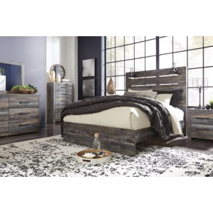 Drystan 4 PC Queen Panel Bedroom Set