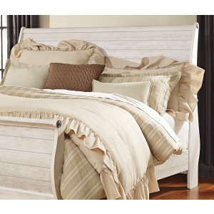 Willowton King Sleigh Headboard