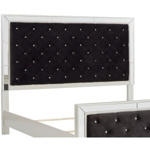 Lindenfield Queen Upholstered Panel Headboard