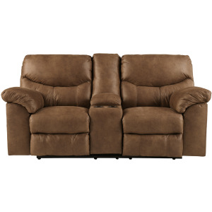 BOXBERG BARK RECLINING LOVESEAT