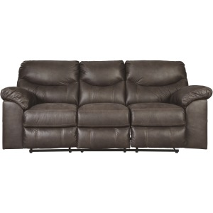 BOXBERG TEAK POWER RECLINING SOFA