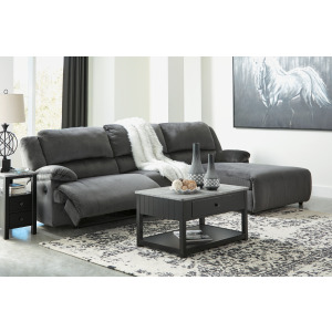 Clonmel 3-Piece Reclining Sectional with Chaise