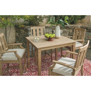 Clare View 5 PC Bar Table Set