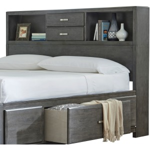 Caitbrook Queen Storage Headboard