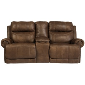 AUSTERE POWER RECLINING LOVESEAT