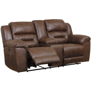 Stoneland Power Reclining Loveseat with Console