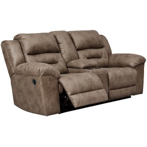 Stoneland Reclining Loveseat with Console