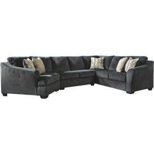 ELTMANN-SLATE - 3PC SECTIONAL