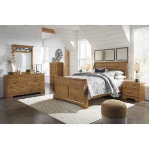 Bittersweet 4 PC Queen Sleigh Bedroom Set