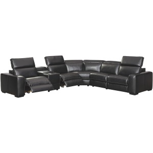 Mantonya 6-Piece Reclining Sectional with Power